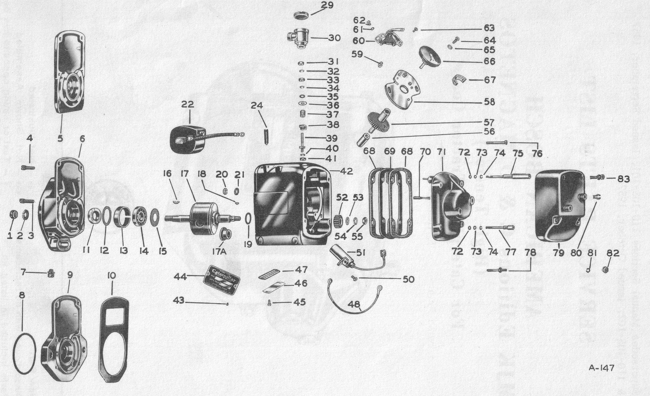 Magneto Parts Diagram | Wiring Schematic Diagram on magneto generator schematic, magneto diagram, magneto ignition,